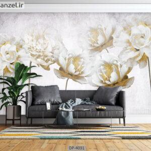 پوستر دیواری طرح گل رز 4031-DP