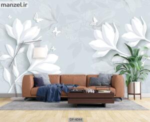 پوستر دیواری طرح گل فانتزی ۴۰۴۴-DP