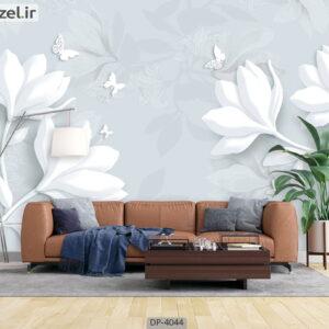 پوستر دیواری طرح گل فانتزی 4044-DP