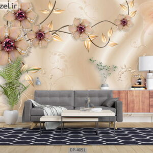 پوستر دیواری طرح گل فانتزی 4051-DP