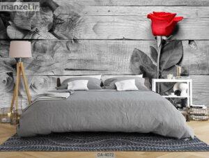 پوستر دیواری طرح گل رز ۴۰۷۲-DA