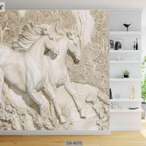پوستر دیواری طرح اسب 4075-DA