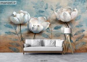 پوستر دیواری طرح گل ۴۰۷۷-DA