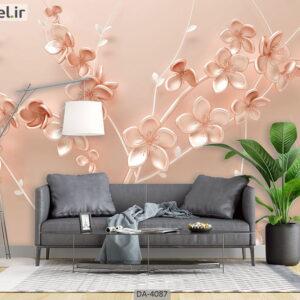 پوستر دیواری طرح گل فانتزی 4087-DA