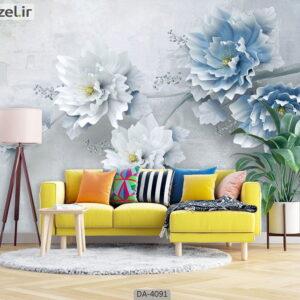 پوستر دیواری طرح گل فانتزی 4091-DA