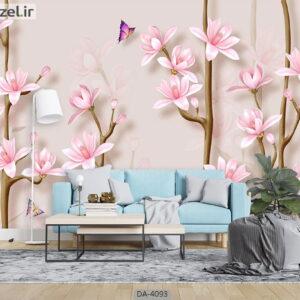 پوستر دیواری طرح شکوفه 4093-DA