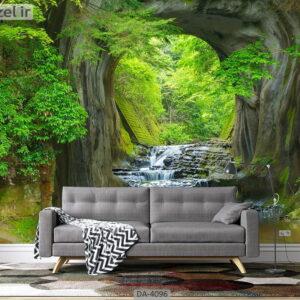 پوستر دیواری طرح جنگل 4096-DA
