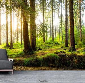 پوستر دیواری طرح جنگل 4099-DA