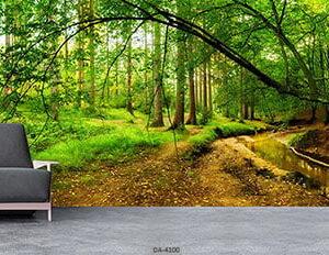پوستر دیواری طرح جنگل 4100-DA
