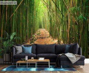 پوستر دیواری طرح درخت بامبو ۴۱۰۱-DA