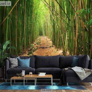 پوستر دیواری طرح درخت بامبو 4101-DA