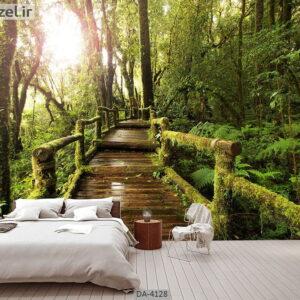 پوستر دیواری طرح جنگل 4128-DA