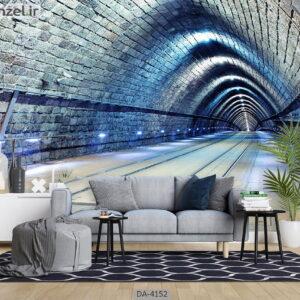 پوستر دیواری طرح تونل 4152-DA