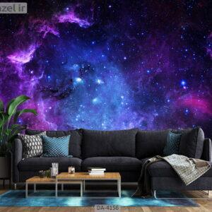 پوستر دیواری طرح کهکشان 4156-DA