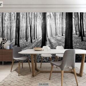 پوستر دیواری طرح جنگل 4159-DA
