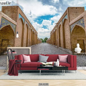 پوستر دیواری طرح ساختمان سنتی ایرانی 4199-DA