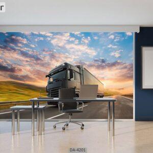پوستر دیواری طرح دفتر شرکت ترانزیت ۴۲۰۱-DA