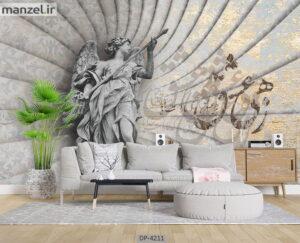 پوستر دیواری طرح مجسمه ۴۲۱۱-DP