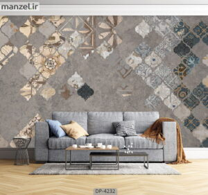 پوستر دیواری طرح لاکچری ۴۲۳۲-DP
