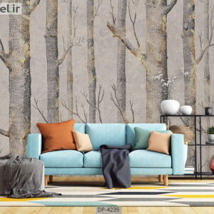 پوستر دیواری طرح درخت فانتزی 4235-DP