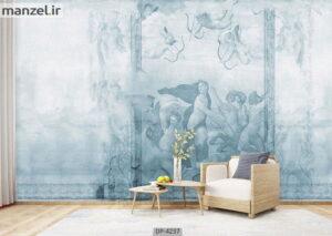 پوستر دیواری طرح نقاشی لاکچری ۴۲۳۷-DP