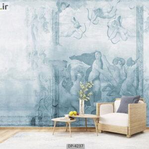پوستر دیواری طرح نقاشی لاکچری 4237-DP