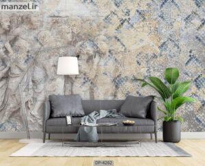 پوستر دیواری لاکچری طرح مسجمه ۴۲۶۲-DP