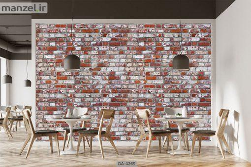 پوستر دیواری طرح آجر 4269-DA