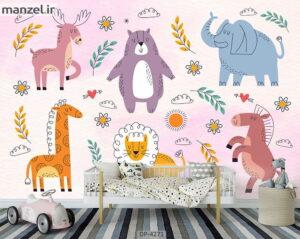 پوستر دیواری طرح کودک ۴۲۷۱-DP