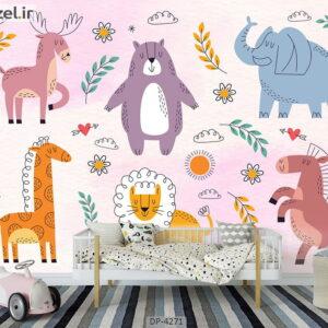 پوستر دیواری طرح کودک 4271-DP