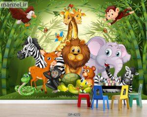 پوستر دیواری طرح کودک ۴۲۷۲-DP