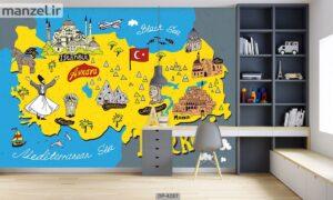 پوستر دیواری طرح فانتزی ۴۲۸۷-DP