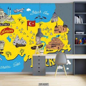 پوستر دیواری طرح فانتزی 4287-DP