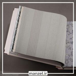 کاغذ دیواری طرح راه راه art nouveau کد 955309
