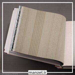 کاغذ دیواری طرح راه راه art nouveau کد 955316