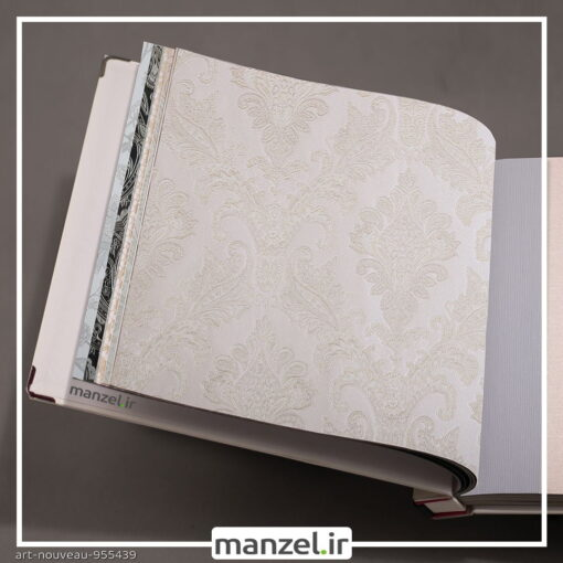 کاغذ دیواری طرح داماسک art nouveau کد 955439