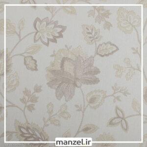 کاغذ دیواری طرح گل art nouveau کد 958201