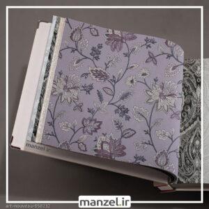 کاغذ دیواری طرح گل art nouveau کد 958232