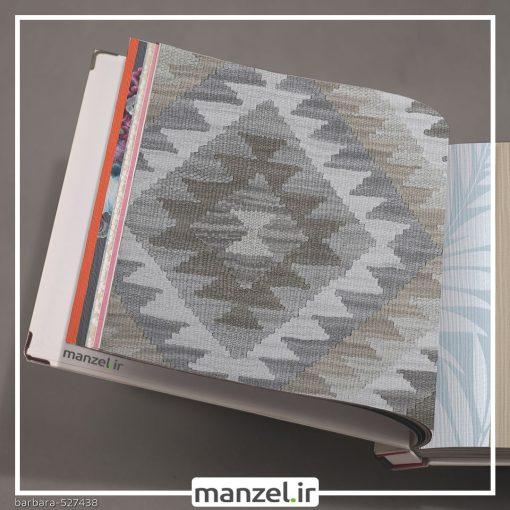 کاغذ دیواری طرح اشکال هندسی barbara کد 527438
