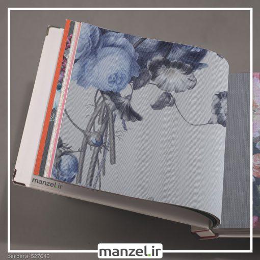 کاغذ دیواری طرح گل barbara کد 527643
