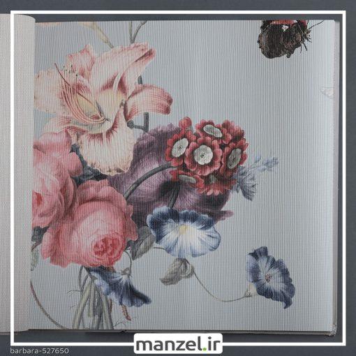 کاغذ دیواری طرح گل barbara کد 527650