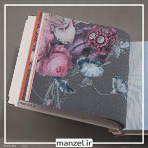 کاغذ دیواری طرح گل barbara کد ۵۲۷۶۶۷