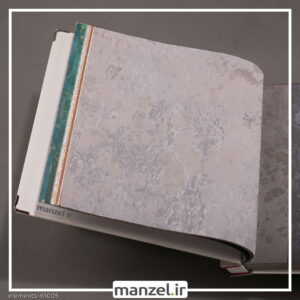 کاغذ دیواری طرح پتینه Elements کد 61005