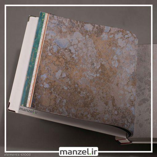 کاغذ دیواری طرح پتینه Elements کد 61008