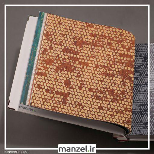 کاغذ دیواری طرح اشکال هندسی Elements کد 61104