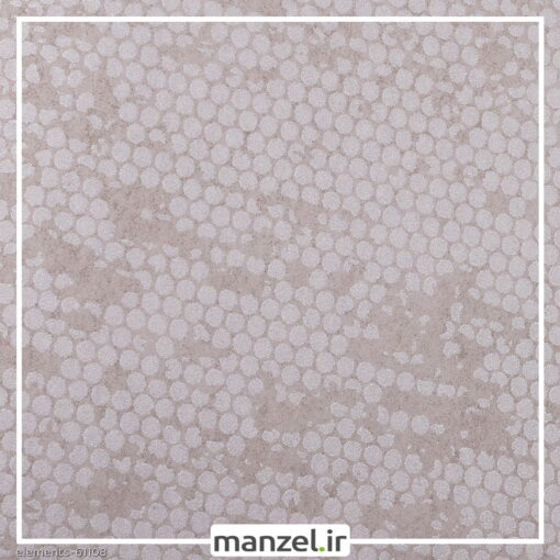 کاغذ دیواری طرح اشکال هندسی Elements کد 61108