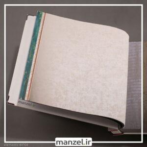 کاغذ دیواری طرح پتینه Elements کد 61703