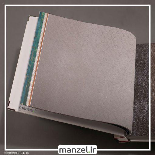 کاغذ دیواری طرح اشکال هندسی Elements کد 61715