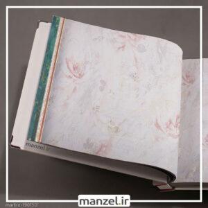 کاغذ دیواری طرح گل Marble کد 1901501
