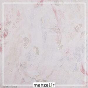 کاغذ دیواری طرح گل Marble کد 1901502